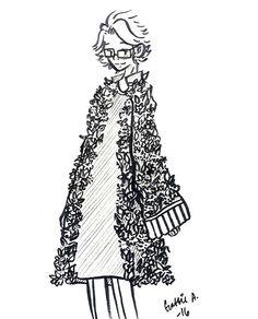 (Art By: GATCHUU) Yoosung Snazzy Flower Coat   ~MYSTIC MESSENGER~ #mystic #messenger #fan #art #fanart #flower #yoosung #kim #yoosungkim #cute #illustration #art #inspiration #adorable #ink #pen #illustrations #cartoon #anime #moe #sketch #doodles #doodling #pencil #doodling #sketchbook #gatchuu #yoosung #artistsofinstagram #art #illustration #drawing #draw #flowers #cute #love #instagram #ink #instadaily #ink #boy #dream #coat #fashion #garden #happy #graphinktober #gatchuu
