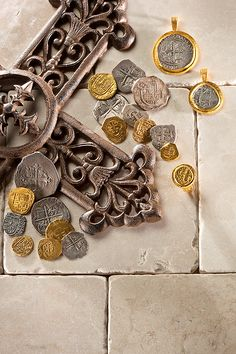 Use the local currency. The coins you have left over at the end of your trip can be turned into a charm bracelet to remember your adventures.  Ancient Coin Jewelry
