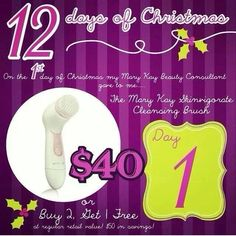 On The First Day of Christmas my Mary Kay Consultant gave to me....$20 off TimeWise Miracle Set! To order colors or any other Mary Kay products or to have a complementary makeover-try-before you buy, contact me by calling, messaging me, or email me at tinakrosse@marykay.com Gift giving....I wrap, deliver, or mail items too!