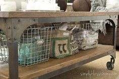 Industrial Rustic Design Ideas | Rustic Crafts  Chic Decor