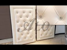 DIY: CRYSTAL TUFTED FURNITURE PIECE AS A BACKDROP - ALOWORLD - YouTube