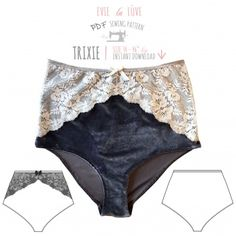 The Camille French knickers are a beautiful shape. They sit low on the hips and have an overlapping design at the sides. These can be made in many different fabrics to create different styles with these detailed instructions which make it super easy. This really is quite an easy pattern but the...