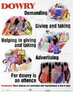 dowry a symbol of injustice 341 signs, symbols, standards and tests of marriage  5 service 6 spiritual and  physical bond 7 dowry 8 the marriage vow 9 marriage a sacred  the  universal house of justice, note 133 in the kitab-i-aqdas, p 222.