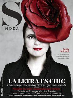 Amélie Nothomb en portada