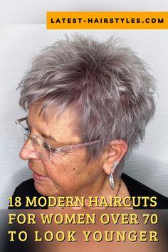 Short Hair Over 60, Funky Short Hair, Short Choppy Hair, Short Thin Hair, Short Grey Hair, Short Hair With Layers, Grey Pixie Hair, Short Sassy Haircuts, Short Spiky Hairstyles
