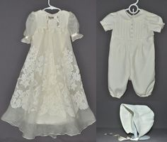 77e14c8b664e Custom christening gown from your wedding dress! Baby Christening Outfit,  Lace Christening Gowns,