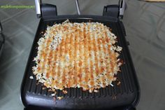 Panini Press Hash Browns @madefrompinterest.net
