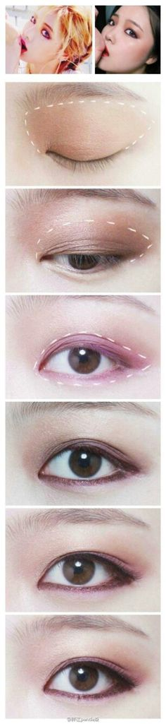 Hyuna eye make up #make up #idea
