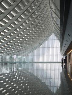 Regeneration of Taoyuan International Airport Terminal 1- Norihiko Dan and Associates. Taiwan, Taipei.