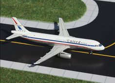 "1/400 GeminiJets United Airlines ""Stars and Bars Retro"" Airbus A320-200"