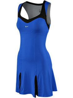 Nike tennis dress Serena wore at US open. I own BOTH the blue and red ; Nike Tennis Dress, Tennis Wear, Sport Tennis, Tennis Clothes, Netball Dresses, Nike Inspiration, Nike Tights, Tennis Funny, Tennis Warehouse