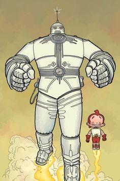 Big Guy & Rusty the Boy Robot - Geof Darrow (art) & Frank Miller (story)