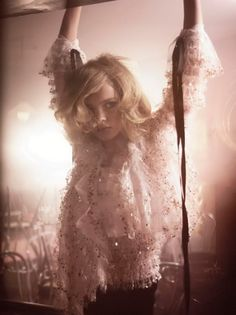 Natalia Vodianova by Glen Luchford