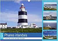Phares irlandais Le long de la côte sauvage d'Irlande (Calendrier mural 2021 DIN A3 horizontal) Monthly Calender, Irish Language, Lighthouses