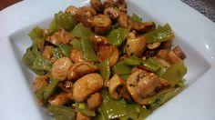 Receta de judías verdes con champiñones Cilantro Rice, Salad Recipes, Healthy Recipes, Good Food, Yummy Food, Shrimp Recipes Easy, Bariatric Recipes, Batch Cooking, How To Cook Quinoa