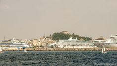 Visita tres cruceros. Más de 6.000 cruceristas