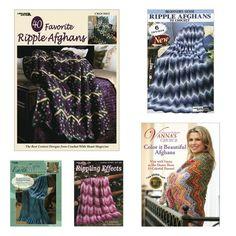ripple afghan #crochet books via @ucrafter
