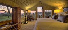 Enjoy Luxury African Safari Lodges in the Okavango Delta, a game reserve in Botswana - home to the world's best wildlife safaris and safari vacations Okavango Delta, Wildlife Safari, Game Reserve, African Safari, Tent Camping, Lodges, Tents, Luxury, Aquarius
