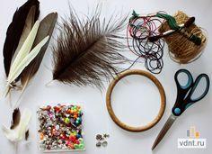 Как сделать ловец снов своими руками | ВДНТ - лучшие работы мастеров рукоделия