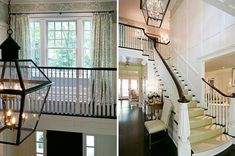 two story foyer and loft