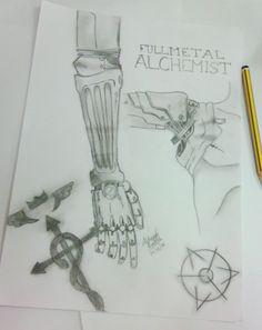 Terminado, me llevo dos días la verdad.   By: Alchemist Runa   #Automail #FMA #Edward #Elric