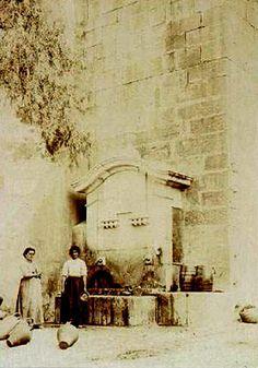 Lisboa de Antigamente: Chafariz do Arco do Carvalhão ou da Cruz das Almas...