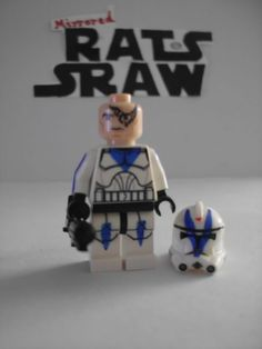 Lego Star Wars minifigures - Clone Custom Trooper Dogma - 501st