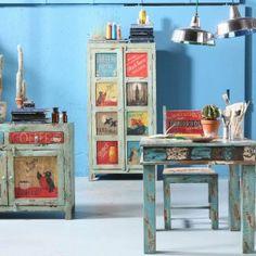 Ręcznie malowane meble. Pomysł dla kreatywnych