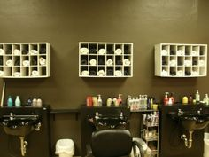 Creative Salon Storage Ideas