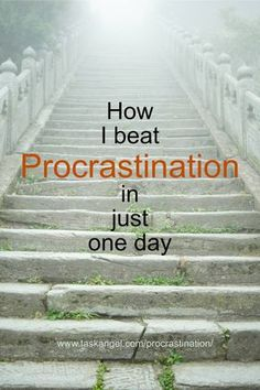 How I Beat Procrastination In Just One Day (The Staircase Technique) Time management tips Self Development, Personal Development, Keeping A Journal, How To Stop Procrastinating, Time Management Tips, Business Management, Project Management, Self Improvement Tips, Getting Things Done