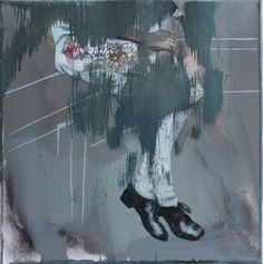"Saatchi Art Artist János Huszti; Painting, ""Uh-huh."" #art"