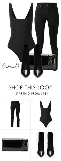 """Untitled #123"" by cainabrown on Polyvore featuring Yves Saint Laurent and Alix"
