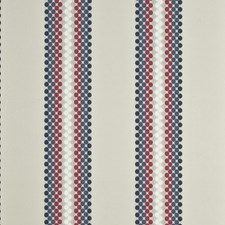 PF50350.5 Soren Stripe Cherry/Stone/Denim by Baker Lifestyle