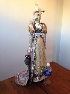 Katherine Collection Retired Victorian Rabbit Doll ;Wayne Kleski Ebay and ending soon! What a stunning piece