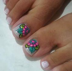 Pedicure Nail Art, Gel Nails, Manicure, Cute Pedicures, Hair And Nails, Nail Designs, Hair Beauty, Ideas Para, Pretty