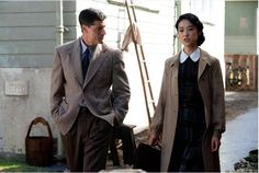 "Matthew Fox and Eriko Hatsune in ""Emperor"""