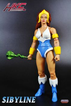 """Sibyline from the episode """"The Defection"""" (Motu Classics style) (Masters of the Universe) Custom Action Figure"""