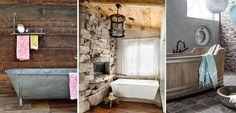 Rustic Bathroom 1