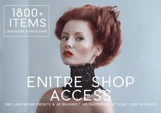 1800 Items Entire Shop Access Lightroom Presets & by LouMarksPhoto