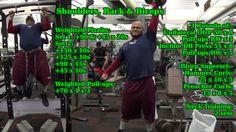 #MassGain #Bodybuilding #Powerlifting #STrongman #Shoulders #Back #Biceps https://www.youtube.com/watch?v=87m76U4iH70