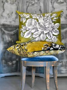 The Finest Hours, Bright Paintings, Farrow Ball, Farmhouse Chic, Silk Scarves, Vintage Inspired, Home Goods, Throw Pillows, Chair