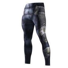 Skinny Sweatpants For Men Compression Pants Men Fashion Leggings Men Jogger Men 3D Fitness Pants Superman ElasticTrousers MMA Pants