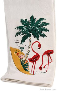 Old time kitchen towel
