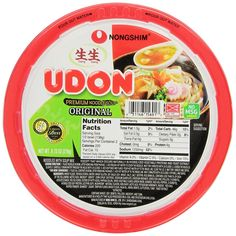 Nongshim Udon Noodle Bowl, 9.73 Ounce Bowls (Pack of 6) -- Check out this great image @ : Fresh Groceries
