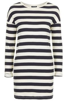 Striped Ribbed Tunic
