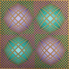Victor Vasarely - képtárak Bartoux
