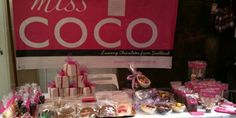 Miss COCO - Chocolate Parties and luxury chocolates