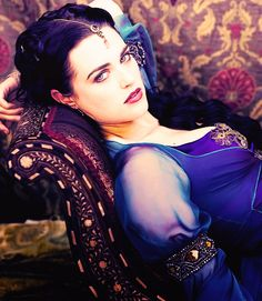 Katie McGrath, because some people are just too beautiful to be human.