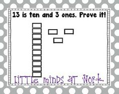 Little Minds at Work: Teen Numbers & Place Value Fun!