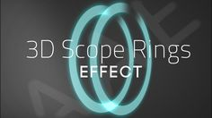 Tuto After Effect - 3D Scope Rings